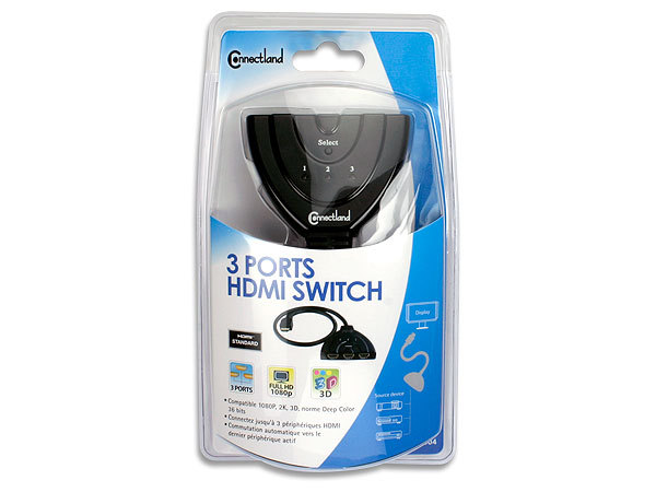 SWITCH HDMI 3 PORTS