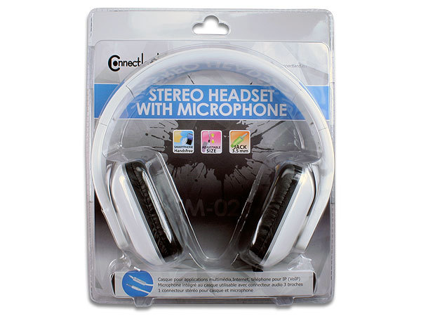 CASQUE STEREO AVEC MICROPHONE