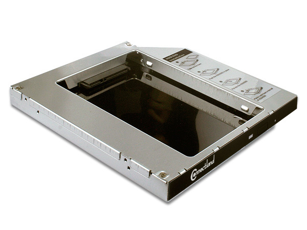 CADDY NOTEBOOK POUR HDD/SSD SATA
